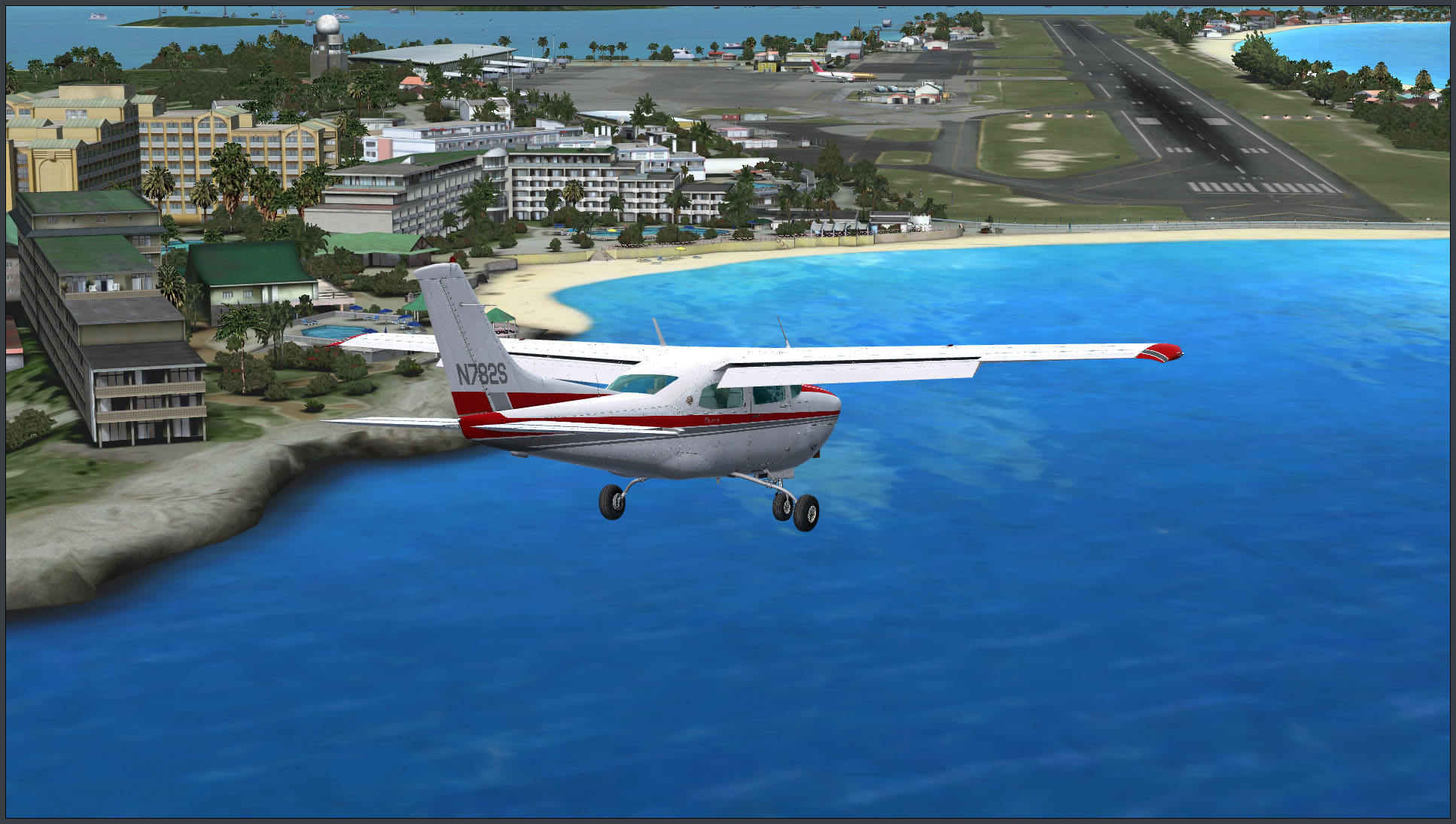 "FlyTampa's ""St  Maarten Complete"" First Look 